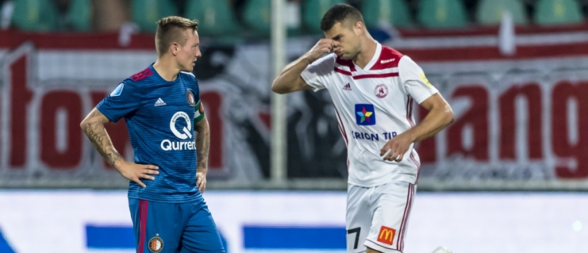 540f8962ec AS Trencin - Feyenoord (4-0)  de blamage in beelden en Tweets
