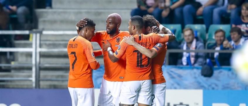 De vijf voorgaande ontmoetingen van Oranje met Estland - ELFvoetbal.nl