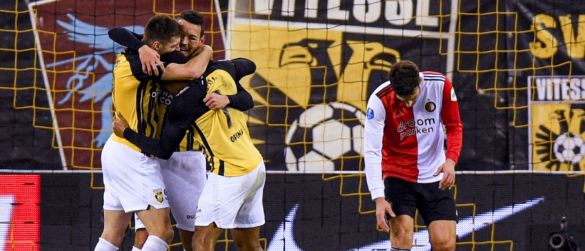 As Feyenoord at all times has a tough time at Vitesse